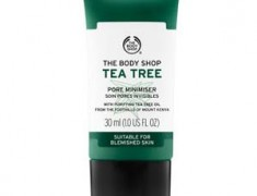THE BODY SHOP TEA TREE PORE MINIMIZER REVIEW