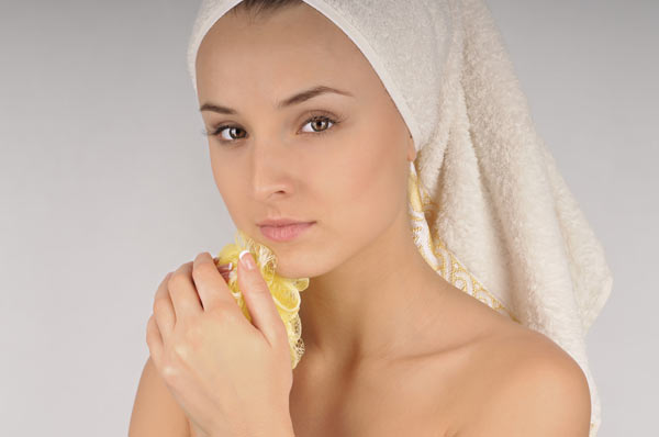 Wash your face Regularly With Clean Water.