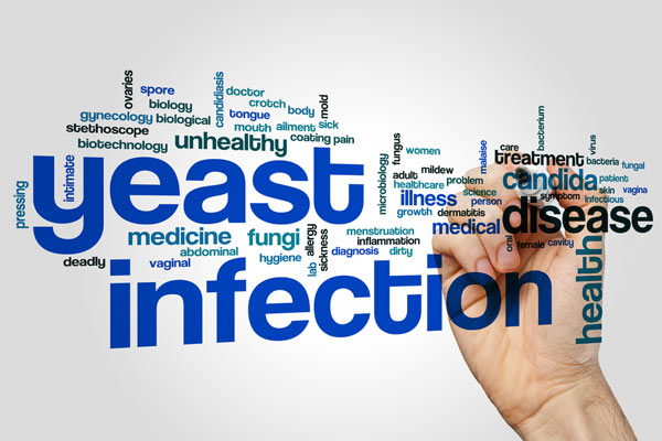 what are the symptoms of yeast infection?