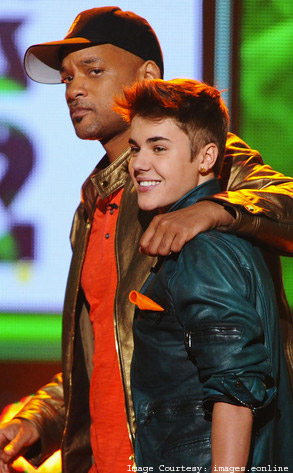 bieber is friends with will smith