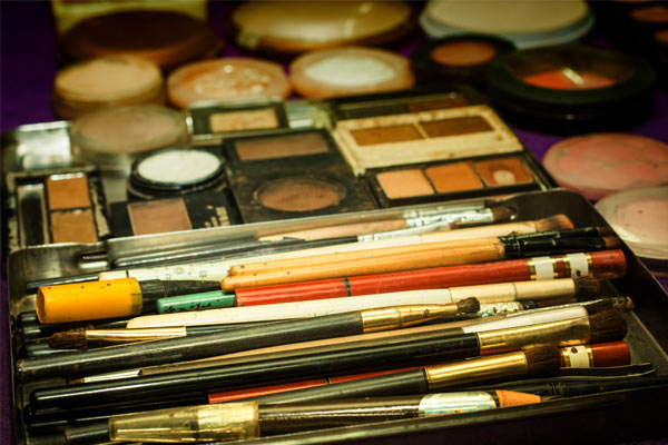 Infected Makeup And Makeup Tools