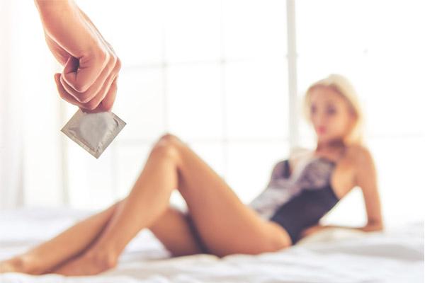 remove condom
