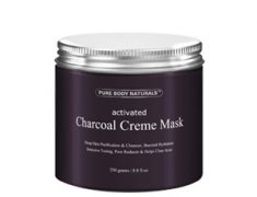 Pure Body Naturals Activated Charcoal Creme Mask Review