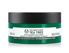 THE BODY SHOP TEA TREE OIL FACE MASK REVIEW