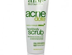 Alba Botanica Acne Dote Face & Body Scrub Review