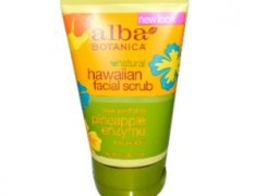 Alba Botanica Pore Purifying Pineapple Enzyme Facial Scrub Review