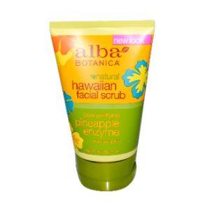 Alba Botanica Pore Purifying Pineapple Enzyme Facial Scrub