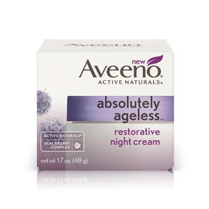 Aveeno Absolutely Ageless Restorative Night Cream Review: Effective?