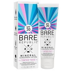 Bare Republic Mineral Face Sunscreen Lotion SPF 30