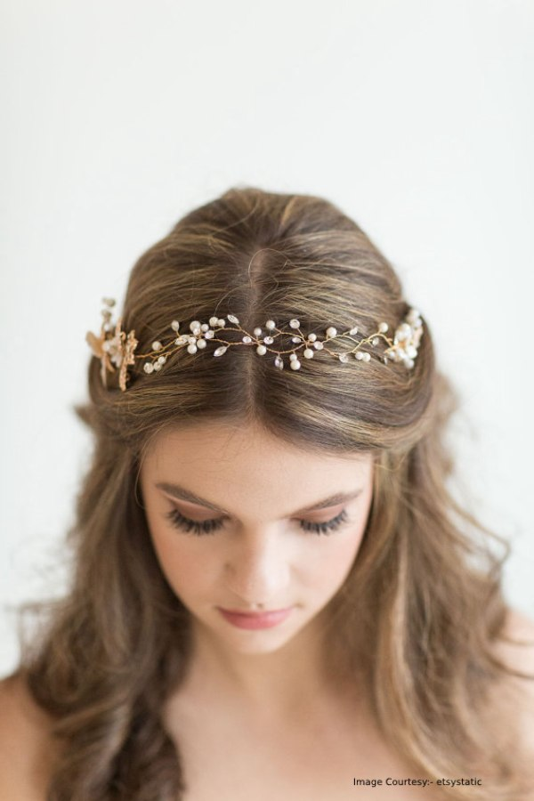 Beaded Crystal Headpieces