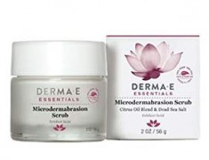 DERMA E MICRODERMABRASION SCRUB WITH DEAD SEA SALT REVIEW