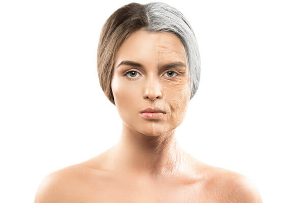 difference in photoaging and normal aging