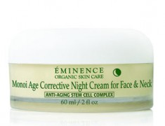 EMINENCE ORGANICS MONOI AGE CORRECTIVE NIGHT CREAM FOR FACE & NECK REVIEW
