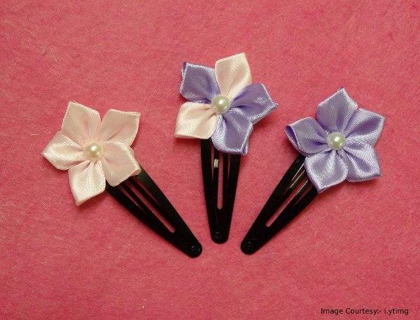 Five Petal Ribbon Flower