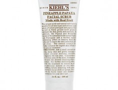 Kiehl's Papaya and Pineapple Face Scrub Review