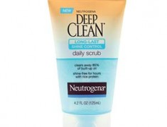 Neutrogena Deep Clean Long Lasting Shine Control Scrub Review