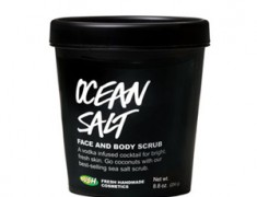 Lush Ocean Salt Facial and Body Scrub Review