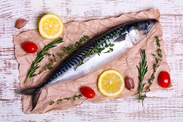 Mackerel As Anti-Aging Food