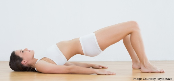 pelvic thrusts during period