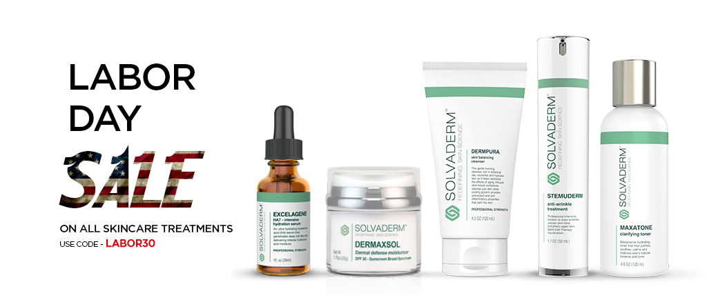 Solvaderm Labor Day Sale