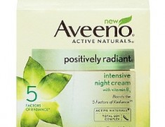 Aveeno Positively Radiant Intensive Night Cream Review
