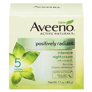 Aveeno Positively Radiant Intensive Night Cream