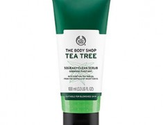 THE BODY SHOP TEA TREE FACIAL SCRUB REVIEW