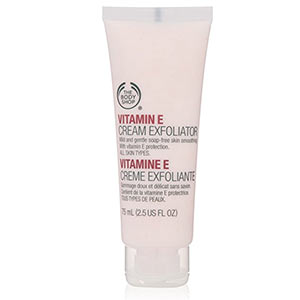 Body Shop Vitamin e Cream Exfoliator Review
