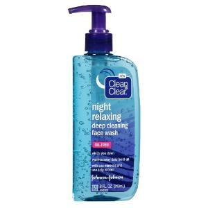 Clean And Clear Night Relaxing Wash Review