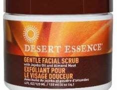 DESERT ESSENCE GENTLE STIMULATING FACE SCRUB REVIEW