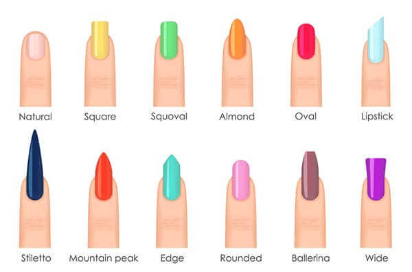Types Of Acrylic Nails: Find Which Shape Is Perfect For Your Hands