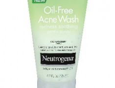 Neutrogena Oil-Free Acne Wash Redness Soothing Gentle Scrub Review