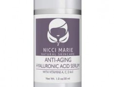 Nicci Marie Skincare Anti-Aging Hyaluronic Acid Serum Review