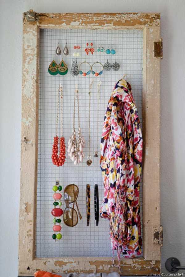 sunglass organizer DIY