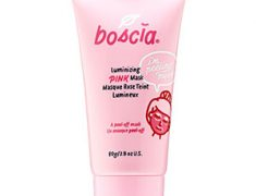 Boscia Luminizing Pink Mask WITH CHARCOAL REVIEW