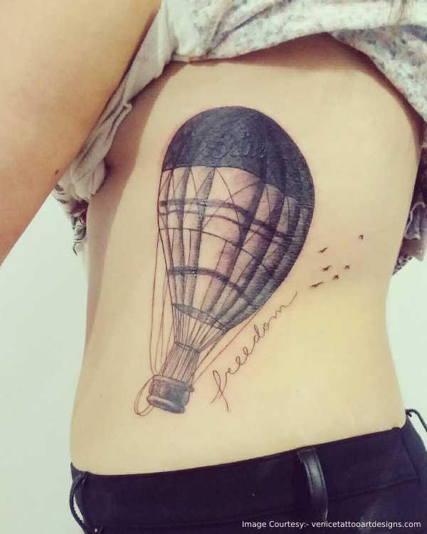 Balloon Side Boob Idea