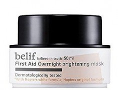 BELIF First Aid Overnight Brightening Mask Review