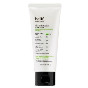 BELIF Mild And Effective Facial Scrub Review
