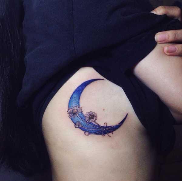 Cresent Moon Tattoo