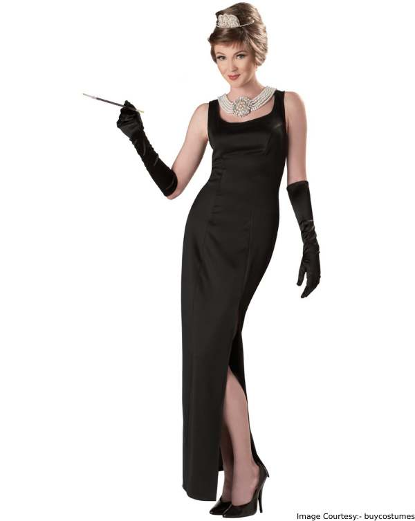 Glamorous Holly Golightly Halloween Costume