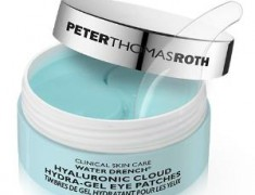 PETER THOMAS ROTH WATER DRENCH HYALURONIC CLOUD HYDRA-GEL EYE PATCHES REVIEW