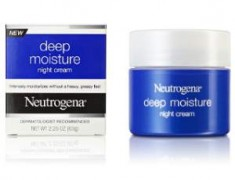 Neutrogena Deep Moisture Night Cream Review