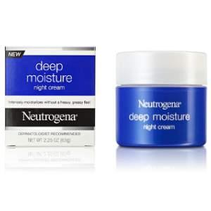 Neutrogena Moisture Night Cream Review