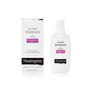 Neutrogena Oil-Free Moisture Facial Moisturizer SPF 35