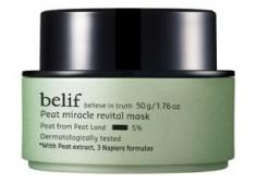 BELIF PEAT MIRACLE REVITAL CLAY MASK REVIEW