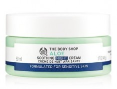 THE BODY SHOP ALOE SOOTHING NIGHT CREAM REVIEW