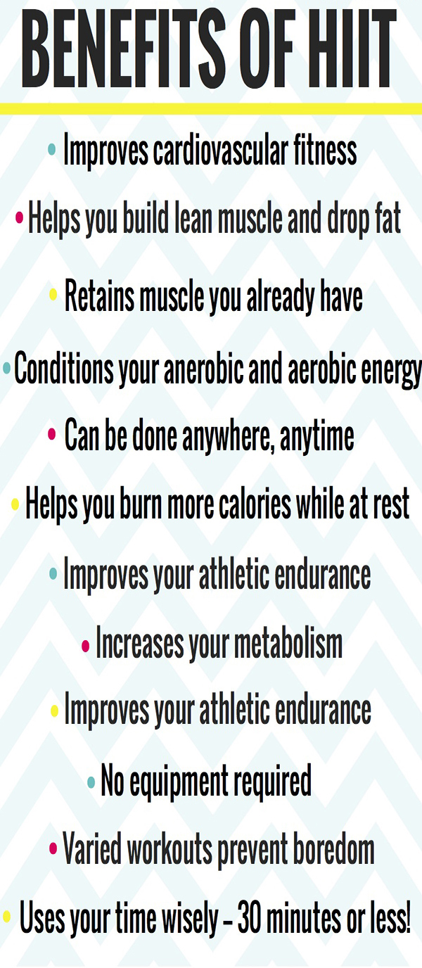 benefits of HIIT