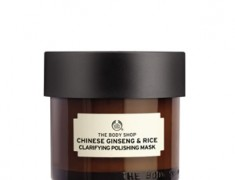 The Body Shop Chinese Ginseng And Rice Clarifying Polishing Mask Review