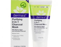 DERMA E PURIFYING 2-IN-1 CHARCOAL MASK REVIEW