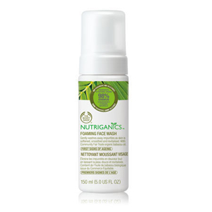 Nutriganics Foaming Face Wash Review